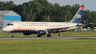 N123HQ - Embraer 170-200LR - US Airways Express (Republic Airlines)
