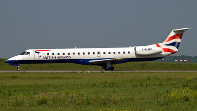 G-EMBP - Embraer ERJ-145EU - BA Connect