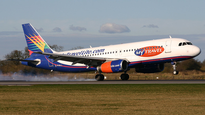 G-FHAJ - Airbus A320-231 - MyTravel Lite