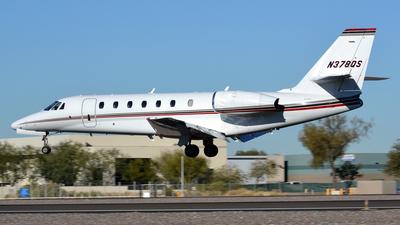 N378QS - Cessna 680 Citation Sovereign - NetJets Aviation