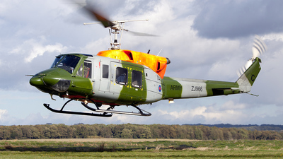 ZJ966 - Bell 212HP - United Kingdom - Army Air Corps