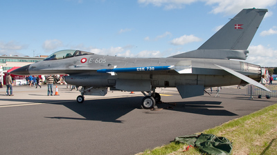E-605 - General Dynamics F-16AM Fighting Falcon - Denmark - Air Force