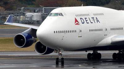 N675NW - Boeing 747-451 - Delta Air Lines