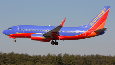 N216WR - Boeing 737-7H4 - Southwest Airlines