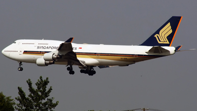 9V-SPA - Boeing 747-412 - Singapore Airlines