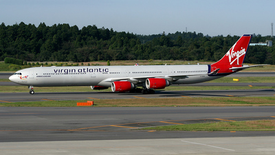 G-VGOA - Airbus A340-642 - Virgin Atlantic Airways