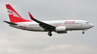 4L-TGM - Boeing 737-76N - Georgian Airways (AirZena)