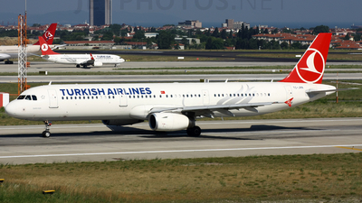 TC-JRN - Airbus A321-231 - Turkish Airlines
