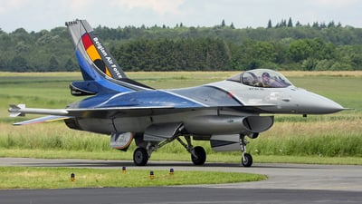FA-84 - General Dynamics F-16AM Fighting Falcon - Belgium - Air Force