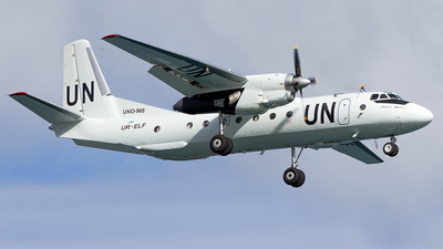 UR-ELF - Antonov An-26B - United Nations (Air Urga)