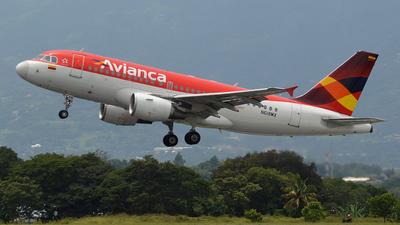 N618MX - Airbus A319-112 - Avianca