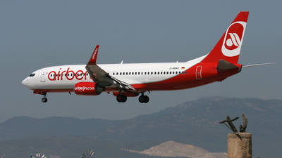 D-ABAQ - Boeing 737-86J - Air Berlin