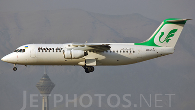 UR-CJJ - British Aerospace BAe 146-300 - Mahan Air