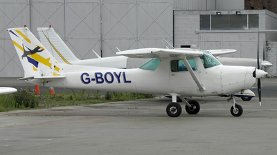 A picture of GBOYL - Cessna 152 -  - © D Kelly- IoM Pics