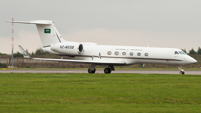 HZ-MS5B - Gulfstream G-V - Saudi Arabia - Aeromedical Evacuation