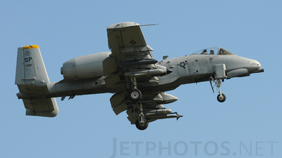 81-0991 - Fairchild A-10C Thunderbolt II - United States - US Air Force (USAF)