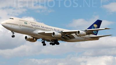 HZ-AIS - Boeing 747-368 - Saudi Arabian Airlines