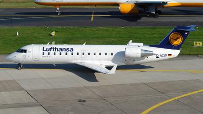 D-ACLV - Bombardier CRJ-100LR - Lufthansa CityLine