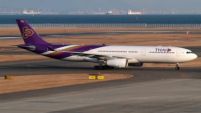 HS-TBA - Airbus A330-343 - Thai Airways International