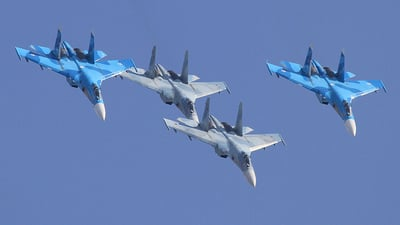 54 - Sukhoi Su-27 Flanker - Russia - Air Force