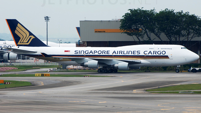 9V-SPE - Boeing 747-412(BCF) - Singapore Airlines