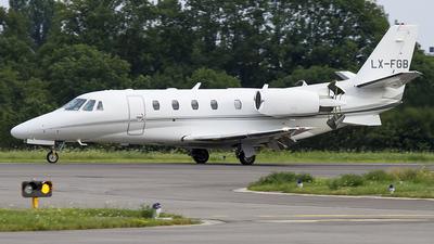 LX-FGB - Cessna 560XL Citation XLS Plus - Flying Service