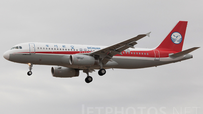 F-WWBD - Airbus A320-232 - Sichuan Airlines