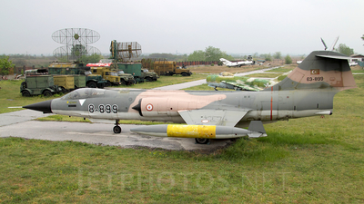 63-899 - Canadair CF-104D Starfighter - Turkey - Air Force