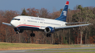 N433US - Boeing 737-4B7 - US Airways