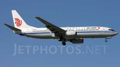 B-5438 - Boeing 737-86N - Air China