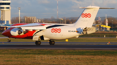EC-HJH - British Aerospace BAe 146-200(QT) - TNT Airways (Pan Air Líneas Aéreas)