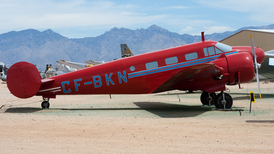 N55681 - Beech D18S - Pima Air and Space Museum