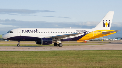G-MPCD - Airbus A320-212 - Monarch Airlines