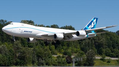 N5017Q - Boeing 747-8KZF - Boeing Company