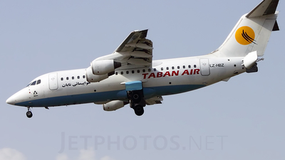 LZ-HBZ - British Aerospace BAe 146-200 - Taban Air (Bulgaria Air)