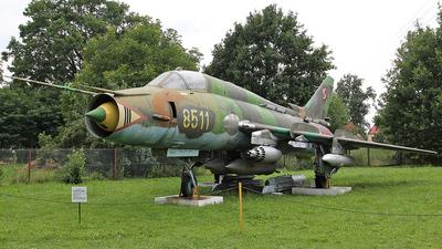 8511 - Sukhoi Su-22M4 Fitter K - Poland - Air Force