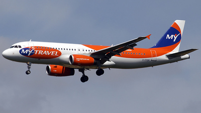 G-FTDF - Airbus A320-231 - MyTravel Airways