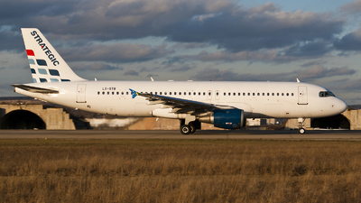 LX-STB - Airbus A320-212 - Strategic Airlines Luxembourg