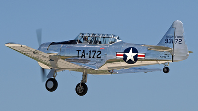 N3172G - North American T-6G Texan - Private