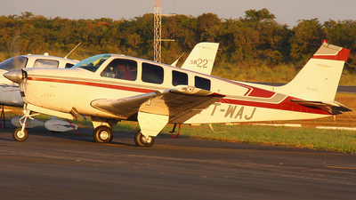 PT-WAJ - Beechcraft A36 Bonanza - Private