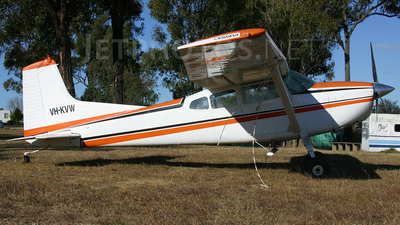 VH-KVW - Cessna 185A Skywagon - Private