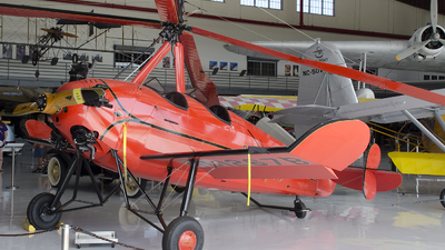 NC1267B - Pitcairn PA-18 Autogyro - Private