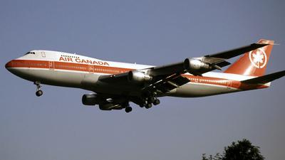 C-GAGA - Boeing 747-233B(M) - Air Canada