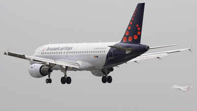 OO-SSP - Airbus A319-113 - Brussels Airlines