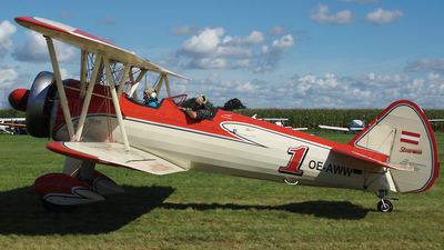 OE-AWW - Boeing E75 Stearman - Private