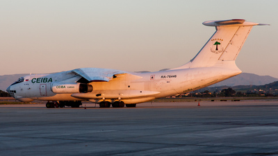 RA-76446 - Ilyushin Il-76TD - Ceiba Cargo