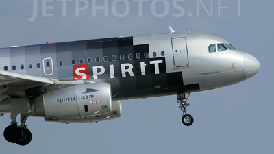 N528NK - Airbus A319-132 - Spirit Airlines