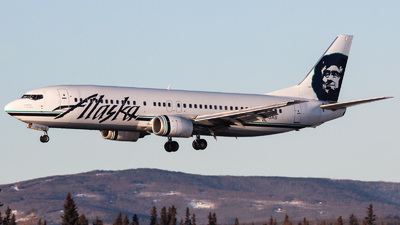 N713AS - Boeing 737-490 - Alaska Airlines