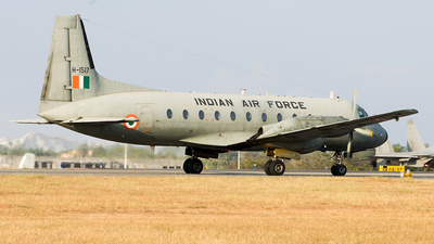 H1517 - Hindustan Aeronautics HAL-748 - India - Air Force