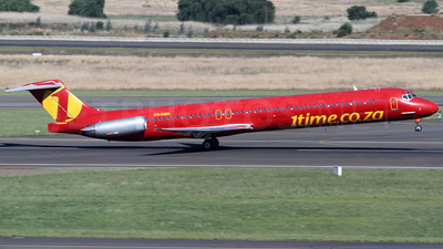 ZS-OBK - McDonnell Douglas MD-81 - 1Time Airline